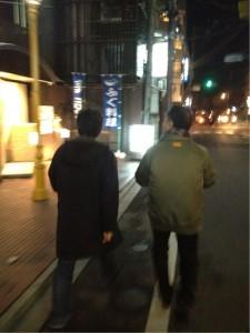 結構歩きました!!京都は路地が多いからね~!