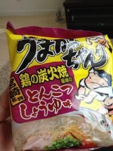 うまかっちゃん鶏の炭火焼風味 とんこつしょうゆ!!